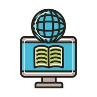 electronic book in desktop and browser