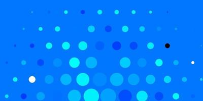 Dark BLUE vector layout with circle shapes.