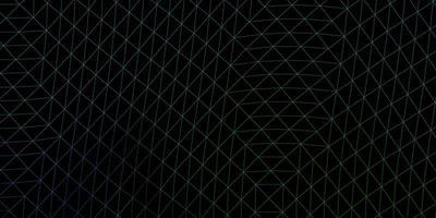 Light blue, green vector geometric polygonal design.