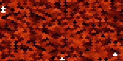 Fondo de vector rojo claro con rectángulos.