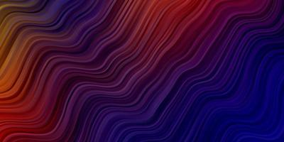 textura de vector azul oscuro, rojo con arco circular.