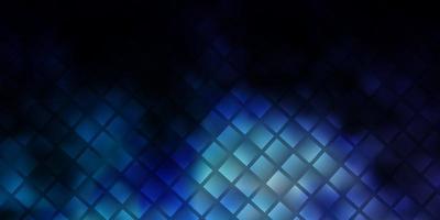 Fondo de vector azul oscuro con rectángulos.