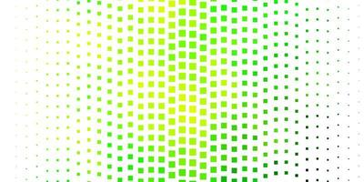 Light Green, Yellow vector texture in rectangular style.