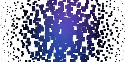 Fondo de vector rosa claro, azul con rectángulos.