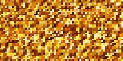 Fondo de vector naranja claro con rectángulos.