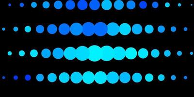 Light BLUE vector layout with circles.