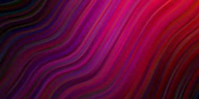 Dark Purple, Pink vector texture with curves.