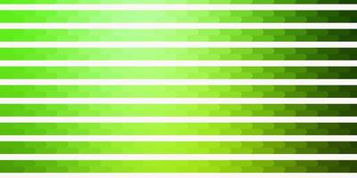 Telón de fondo de vector verde claro con líneas.