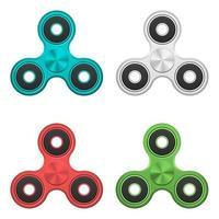 Fidget spinner toy vector design illustration isolated on white background
