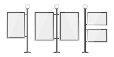 Ilustración de diseño de vector de plantilla de caja de luz aislada sobre fondo blanco
