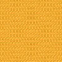 Ilustración de diseño de vector de patrones sin fisuras de miel