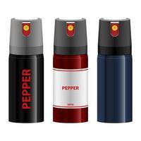 Pepper spray vector design illustration isolated on white background