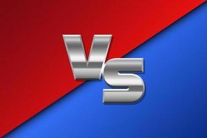 Versus background vector design illustration