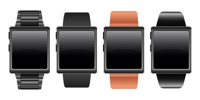 Smartwatch device vector design illustration isolated on white background
