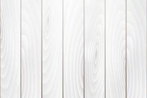 Fondo de textura de madera blanca vieja vector