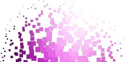 patrón de vector rosa claro en estilo cuadrado.