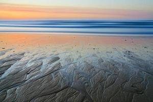 Sunset on atlantic coast