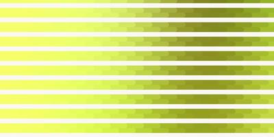 Light Green, Yellow vector texture with lines.