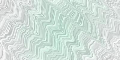 Fondo de vector verde claro con líneas dobladas.