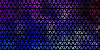 Light Multicolor vector texture with triangular style.