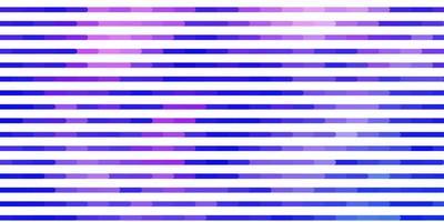 telón de fondo de vector púrpura claro con líneas.