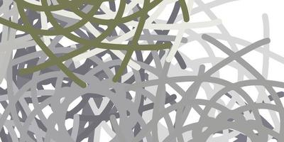 Light Gray vector texture with memphis shapes.