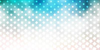 Light Pink, Green vector backdrop with rectangles.