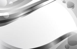 Simply Grey Metallic Flow Background
