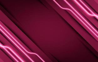 Simple Neon Effect Red Background vector