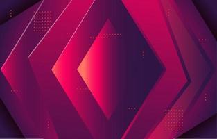 fondo abstracto rojo tecnología diamante vector