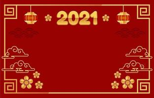 Gong Xi Fat Choi Background With Red And Gold