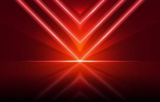 Red Neon Background vector