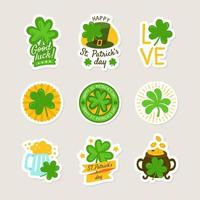 St Patrick's Day with Clover Theme