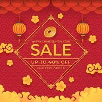 Happy Chinese New Year Sale Offer