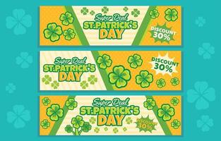 Lucky of St Patricks Day Super Deal vector