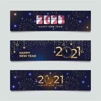 Celebrate Happy New Year Countdown Banner vector