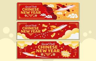 Special Deal of Lunar Holiday vector