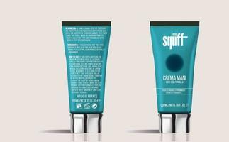 Luxury Hand  Cream Cosmetics Tubes Mockup vector