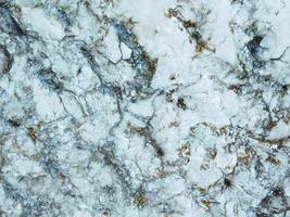 White marble and blue background