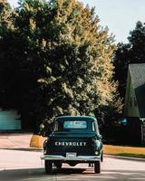 Old Chevrolet truck photo
