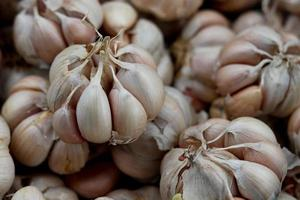 Close-up of garlic cloves