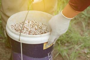 cubo de fertilizante