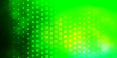 Light Green vector background with rectangles.