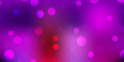 Light multicolor vector background with random forms.