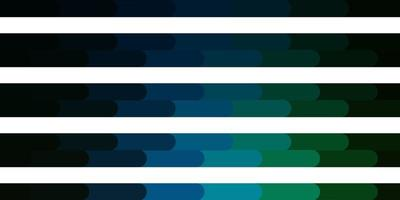 Dark Blue, Green vector template with lines.