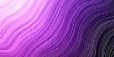 Dark Pink vector background with lines.