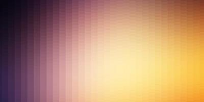 diseño de vector rosa claro, amarillo con líneas, rectángulos.