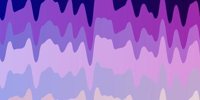 plantilla de vector rosa claro, azul con líneas.