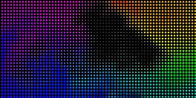 Light Multicolor vector texture with disks.
