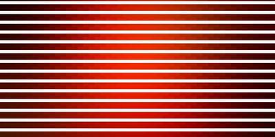 Dark Orange vector background with lines